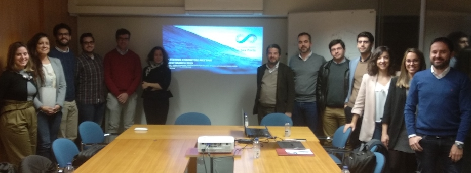 IHCANTABRIA HAS PARTICIPATED IN THE STEERING COMMITTEE MEETING OF THE SE@PORTS PROJECT IN OPORTO (PORTUGAL)