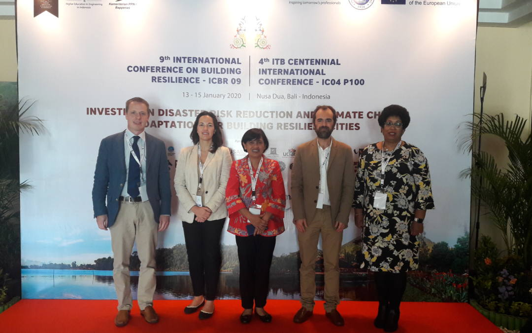 IHCantabria in the 9th international conference on building resilience