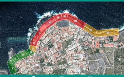 """The early warning system for the prediction of coastal flooding events developed by IHCantabria in the municipality of Garachico (Tenerife), proved its effectiveness during the storm caused by the """"Epsilon"""" storm"""