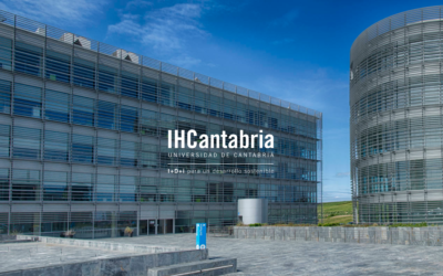 IHCantabria's website, awarded as the best professional website in the 13th edition of the Cantabria Digital Awards