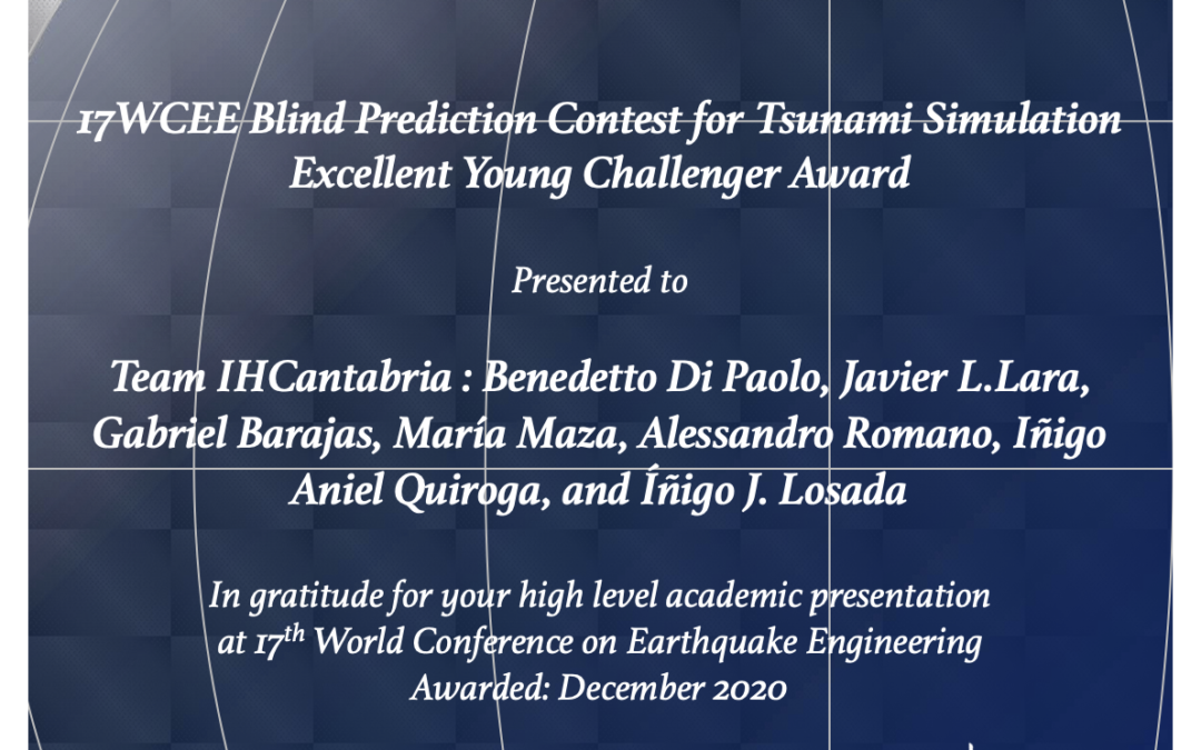 """IHCantabria researchers awarded with the """"Excellent Young Challenger"""" prize"""