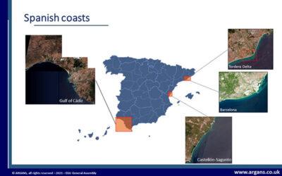 """Un equipo de IHCantabria participa en el proyecto """"Coastal Erosion from Space""""  que desarrollará de productos derivados de satélite para vigilar la costa"""