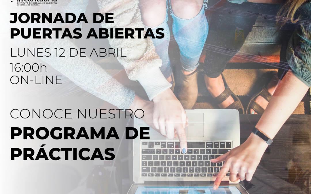 (Español) Celebramos la jornada de puertas abiertas (on-line) de nuestro programa de prácticas