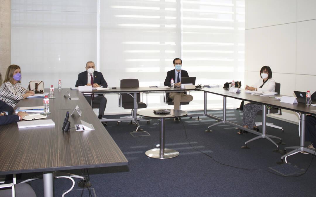 El Patronato de la Fundación Instituto de Hidráulica Ambiental se reúne bajo la Presidencia del rector Ángel Pazos