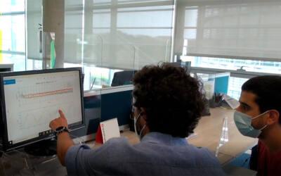 Investigadores de IHCantabria ensayan tecnología eólica flotante con menor coste y mayor rendimiento