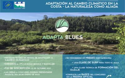 (Español) El proyecto LIFE ADAPTA BLUES pone en marcha su 1er concurso Adaptación al cambio climático en la costa – La naturaleza como aliada.